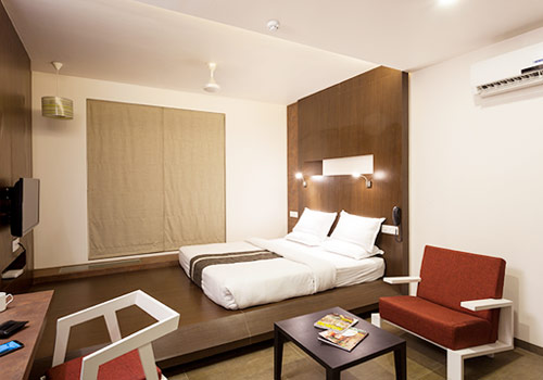 Super AC Deluxe Rooms at Hotel K Tree, Kolhapur