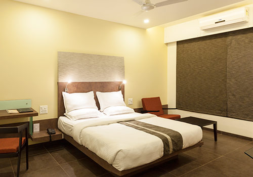 Deluxe AC Rooms at Hotel K Tree, Kolhapur