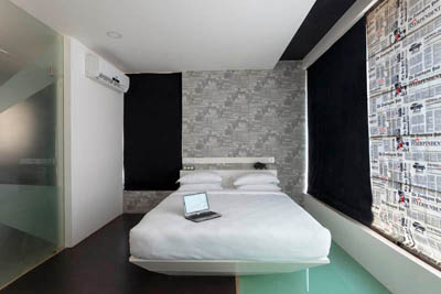 Monochrome Suite Rooms at Hotel K Tree in Kolhapur